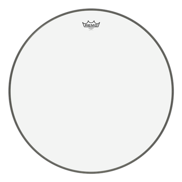 """Remo Emperor Clear 24"""" Bass Drum Head Clear"""