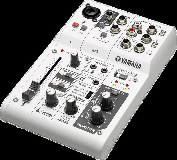 Yamaha AG03 USB Mixer and Interface
