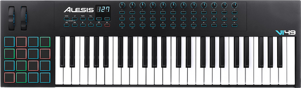 Alesis VI49 49-Key USB MIDI Keyboard