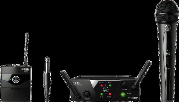 AKG WMS40 Mini 2 Dual Vocal Instrument Set