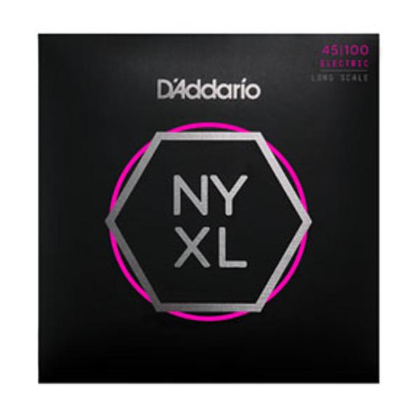 D'addario Bass Guitar Strings NYXL45100 4 String Set 45/100