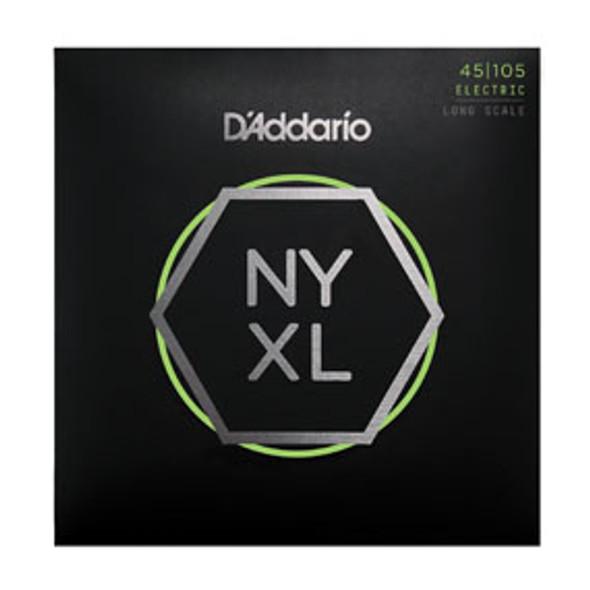 D'addario Bass Guitar Strings NYXL45105 4 String Set 45/105