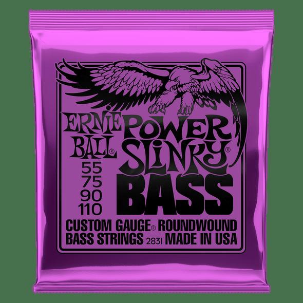 Ernie Ball Bass Strings Power Slinky 55-110