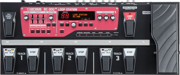 Boss RC300 Loop Station Pedal