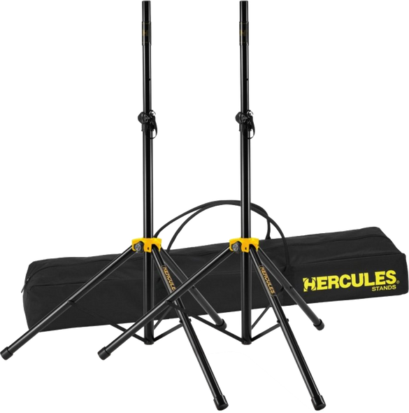Hercules Speaker Stand Pair with Bag