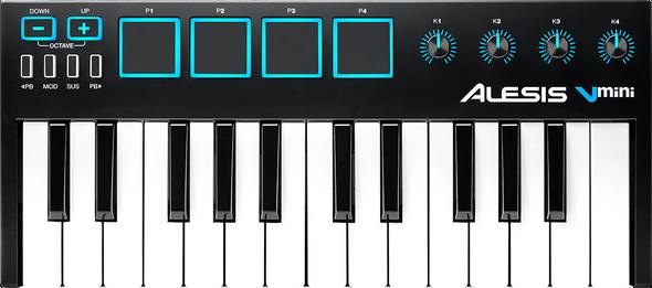 Alesis V Mini Portable 25-Note USB-MIDI Controller