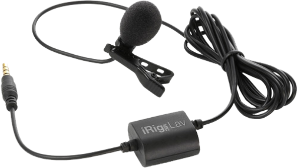 IK Multimedia iRig Mic Lav Clip-On Mic for Mobile (2-Pack)