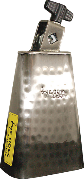 "Tycoon Percussion TWH-55 5.5"" Hand Hammered Mountable Cowbell"