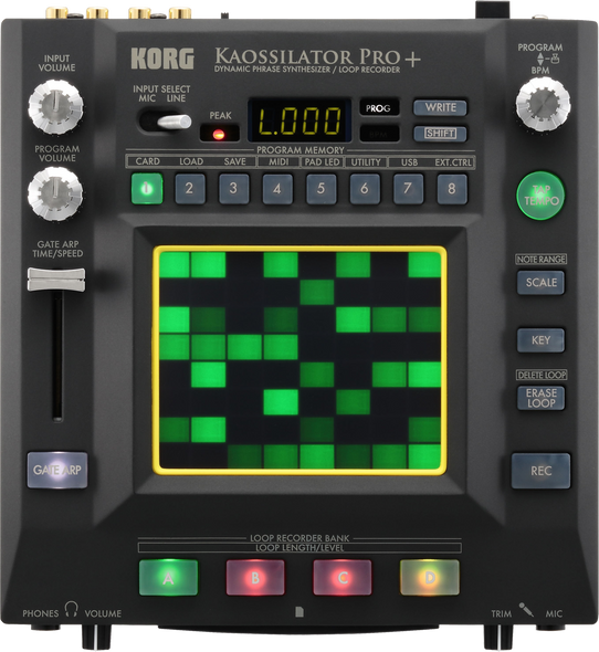 Korg Kaossilator Pro+ Dynamic Phrase Synth