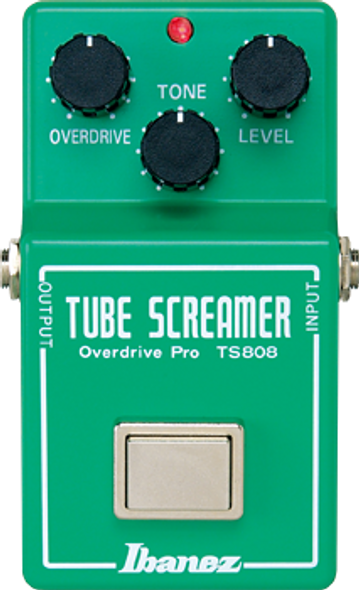 Ibanez TS808 Original Tube Screamer Reissue Overdrive Pedal