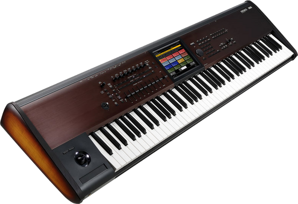 Korg Kronos LS 88-Note Semi-Weighted Workstation - Free Hardcase Included