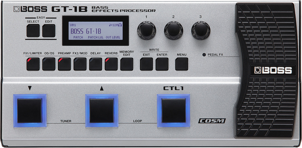 Boss GT-1B Bass Multi Effects Processor