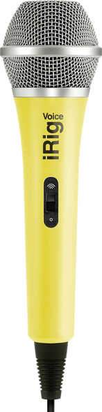 IK Multimedia iRig Voice Yellow Microphone