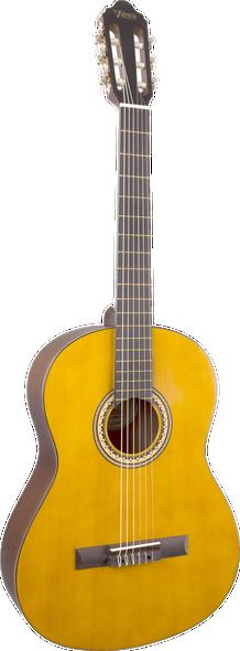 Valencia VC204H Hybrid/Thin-Neck Classical Guitar Antique Natural