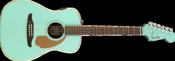 Fender California Series Malibu Player Aqua Splash