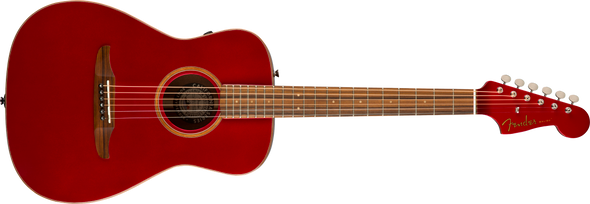 Fender California Series Malibu Classic Hot Rod Red Metallic