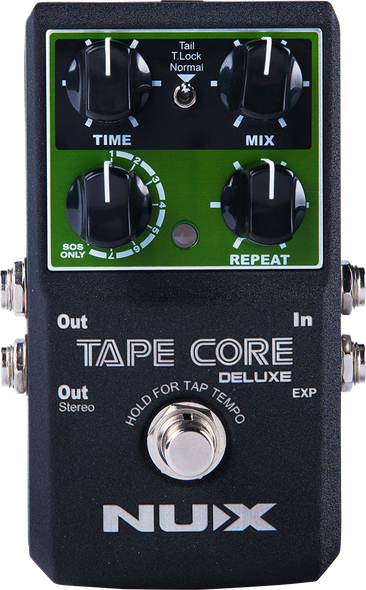 Nux Tape Core Deluxe Tape Echo Effects Pedal
