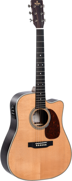 Sigma DTC-28HE+ Acoustic/Electric Guitar