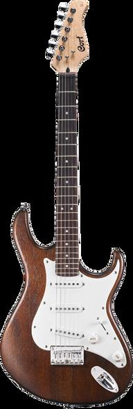 Cort G100 OPW Electric Guitar Open Pore Walnut