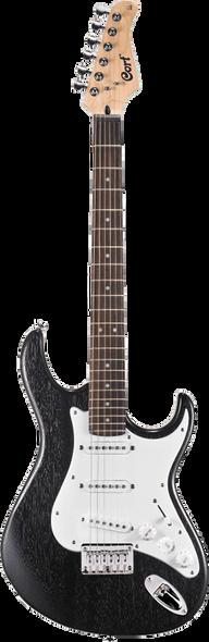 Cort G100 OPB Electric Guitar Open Pore Black