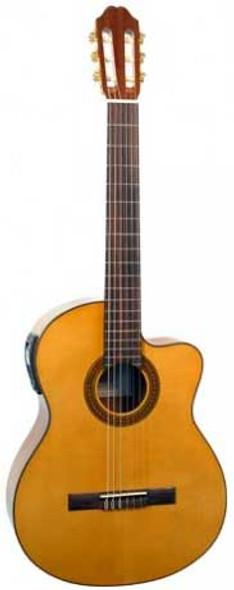 Katoh MCG20CEQ Spruce Sapele Student Nylon Electric Guitar