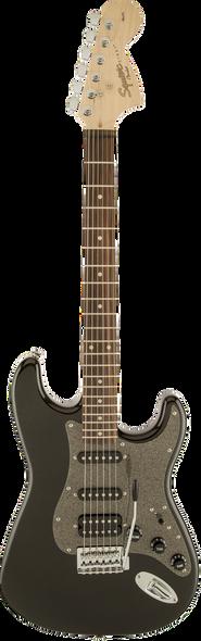 Squier Affinity Series Stratocaster HSS Laurel Fingerboard Montego Black Mettalic