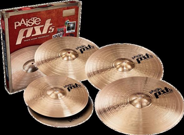Paiste PST5 Universal Bonus Set Cymbal Pack 14/16/18/20