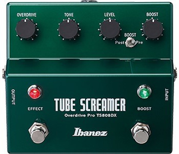 Ibanez TS808DX Tubescreamer With Booster Guitar Effects Pedal (4952478)