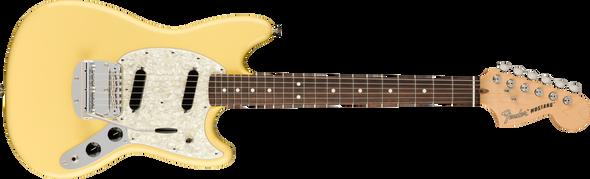 Fender American Performer Mustang RW Vintage White