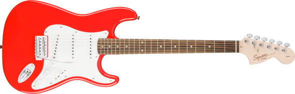 Squier Affinity Stratocaster LRL Race Red