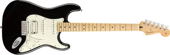 Fender Player Stratocaster HSS Maple Fingerboard Black