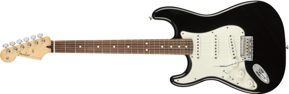 Fender Player Stratocaster Left-Handed Pau Ferro Fingerboard Black