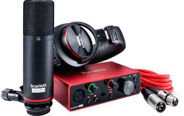 Focusrite Scarlett Solo Studio 3rd Gen USB Audio Interface Pack