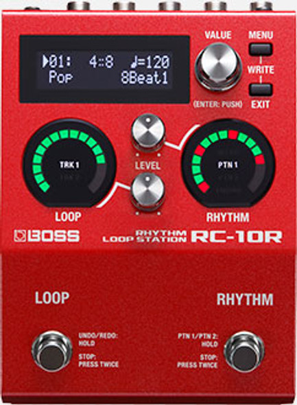 BOSS - RC10R Looper Pedal / Drum Machine