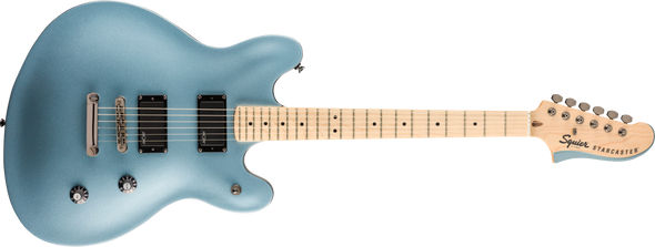 Squier Contemporary Active Starcaster Ice Blue Metallic With Maple Fingerboard
