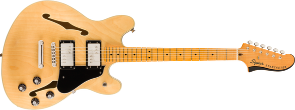 Squier Classic Vibe Starcaster Natural With Maple Fingerboard