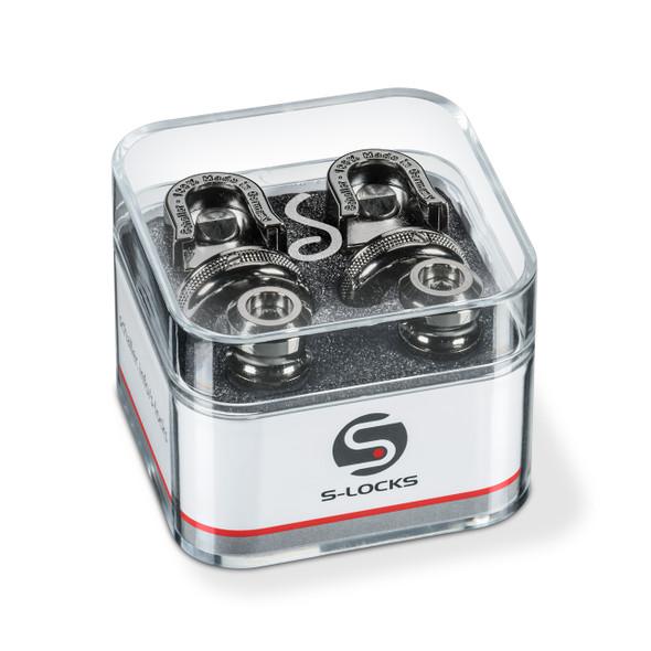 Schaller S-Lock Strap Locks Ruthenium