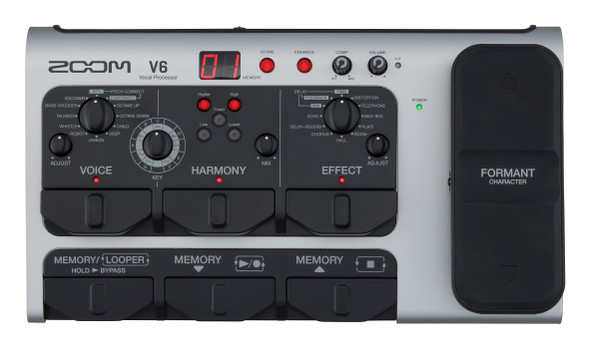 Zoom V6 Vocal Processor & Microphone