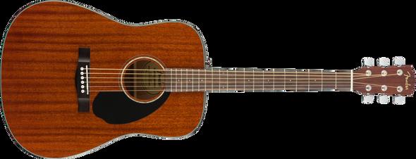 Fender CD-60S Dreadnought, Walnut Fingerboard, All-Mahogany