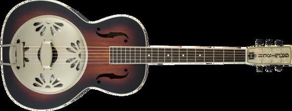 Gretsch G9241 Alligator™ Biscuit Round-Neck Resonator Guitar with Fishman® Nashville Pickup, 2-Color Sunburst