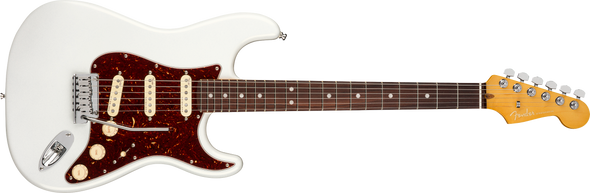 Fender American Ultra Stratocaster, Rosewood Fingerboard, Arctic Pearl