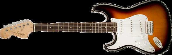 Squier Affinity Series™ Stratocaster®, Left-Handed, Laurel Fingerboard, Brown Sunburst