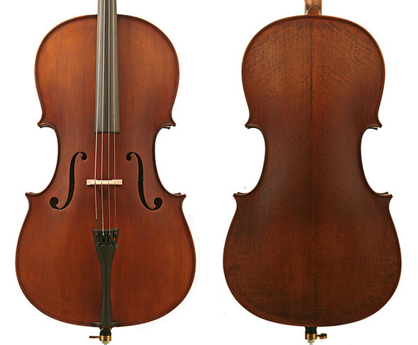 Enrico Student Plus II Cello Outfit - 3/4 Size With Setup