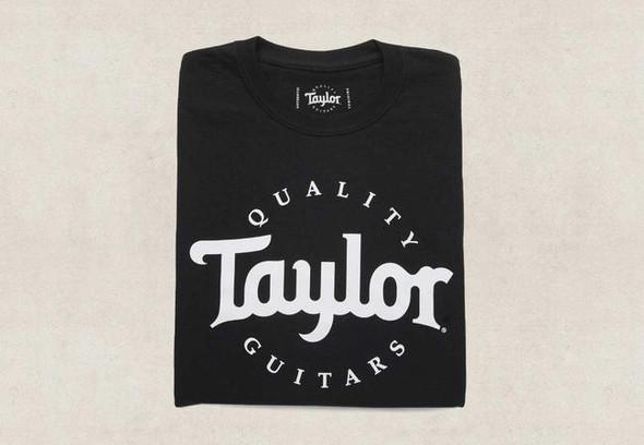 Taylor Basic Black Logo T-Shirt