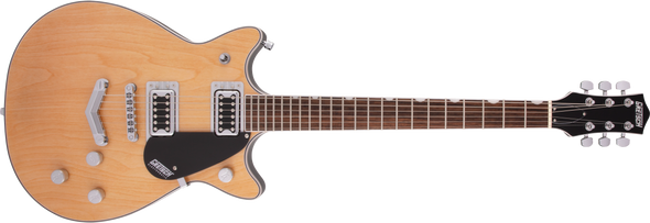 Gretsch G5222 Electromatic Double Jet BT with V-Stoptail, Laurel Fingerboard, Aged Natural
