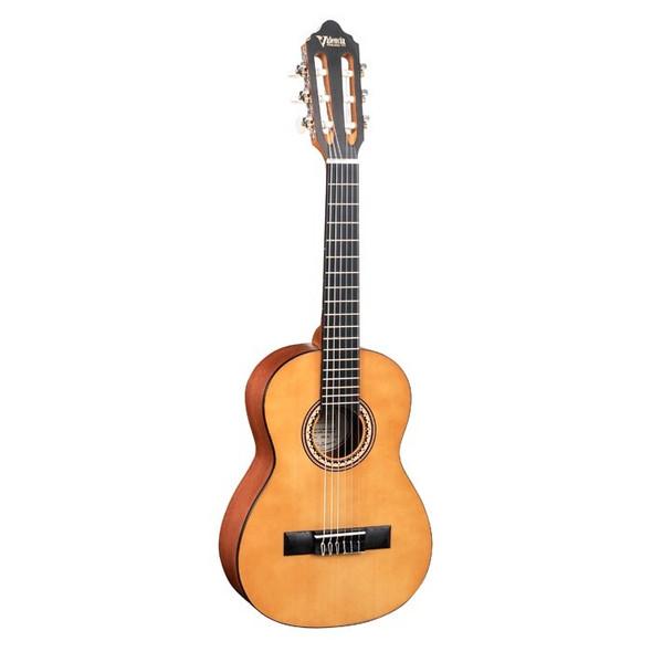 Valencia VC201 1/4 Classical Guitar Antique Natural