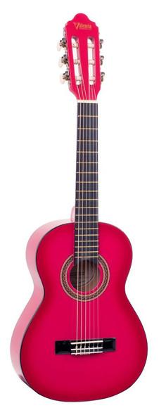 Valencia VC104 Classical Guitar Pink Sunburst