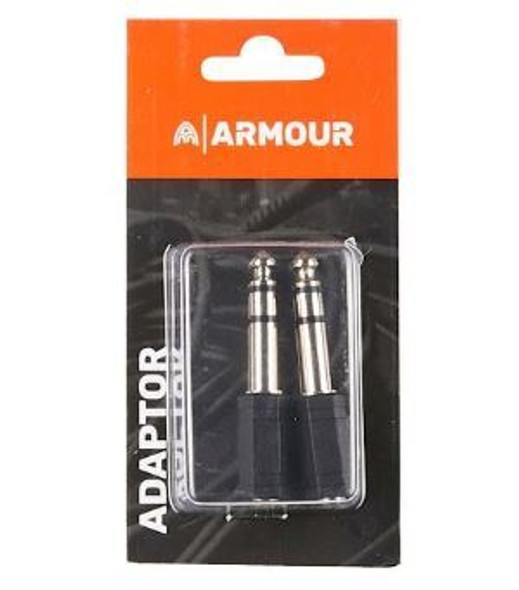 "Armour 1/8"" to 1/4"" Stereo Adaptor"