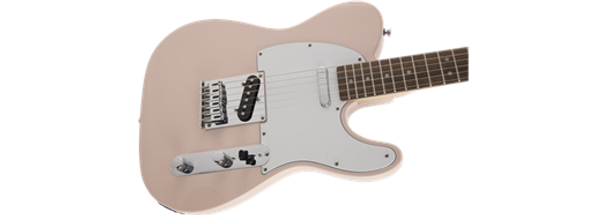Squier FSR Affinity Series™ Telecaster®, Laurel Fingerboard, Shell Pink
