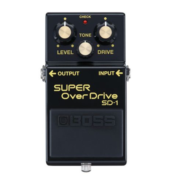 Boss SD-1 Limited Edition 40th Anniversary Super Overdrive